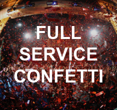 Full Service Confetti Production by Confetti Unlimited