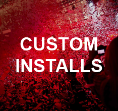 Custom Confetti, Streamer or Cryo Jet Installs by Confetti Unlimited